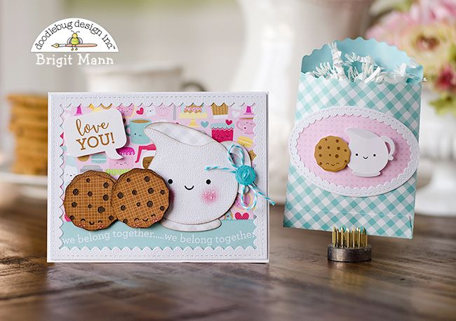 Doodlebug Design Inc Blog: NEW Cream & Sugar Collection Cut Files: Sweetest Projects by Brigit Mann