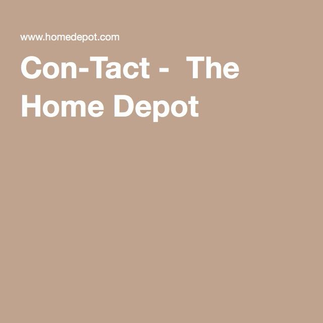 Con-Tact -  The Home Depot