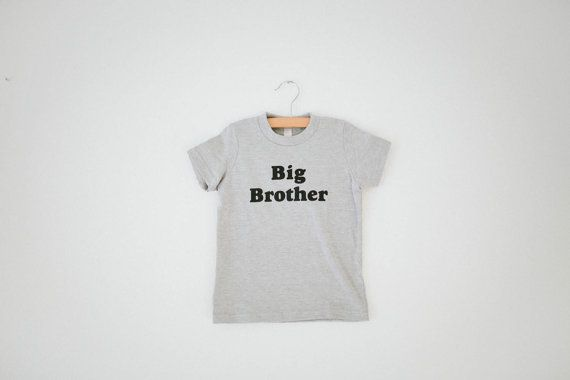 Big Brother Children's t-shirt by The Bee & The by TheBeeandTheFox
