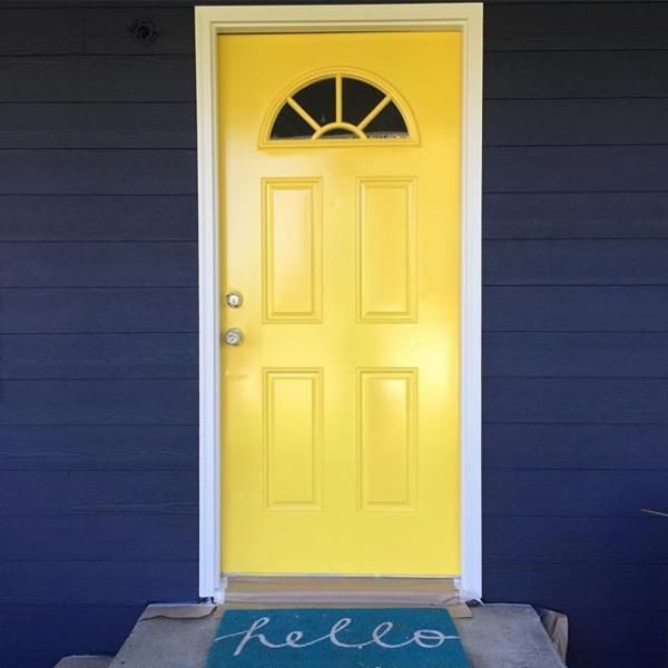 120 best Fabulous Paint Colors for Front Doors images on Pinterest | Entrance doors Front doors and Front entrances & 120 best Fabulous Paint Colors for Front Doors images on Pinterest ...
