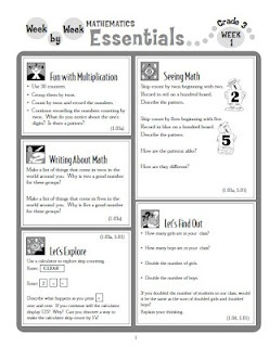 link to printable math resources
