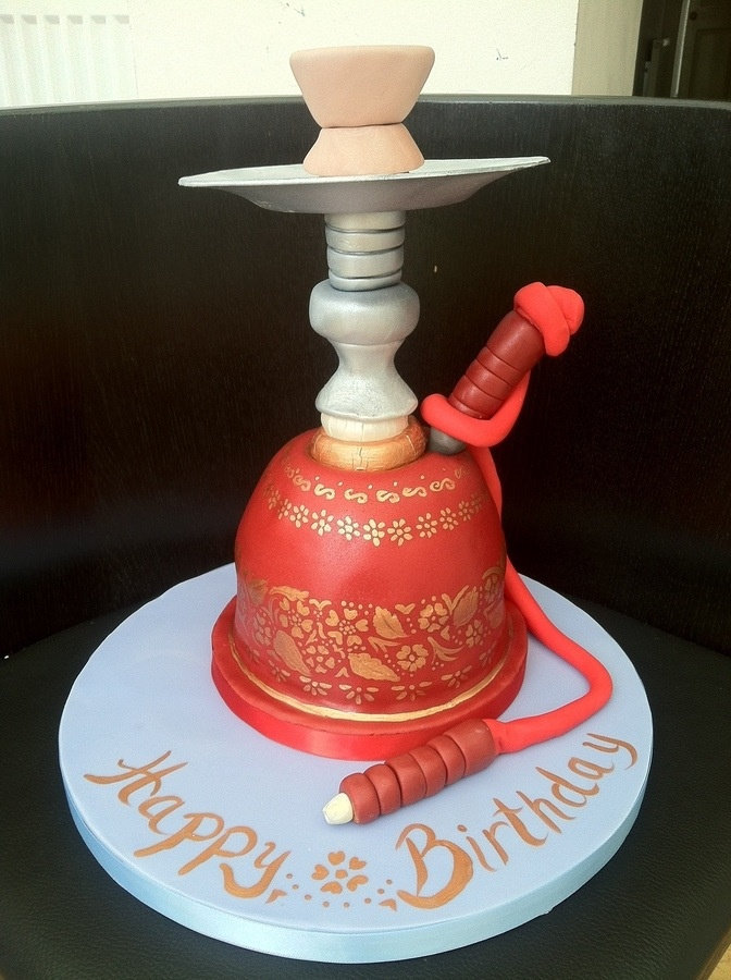 Sheesha Cake Caking Fondant Pinterest Cakes
