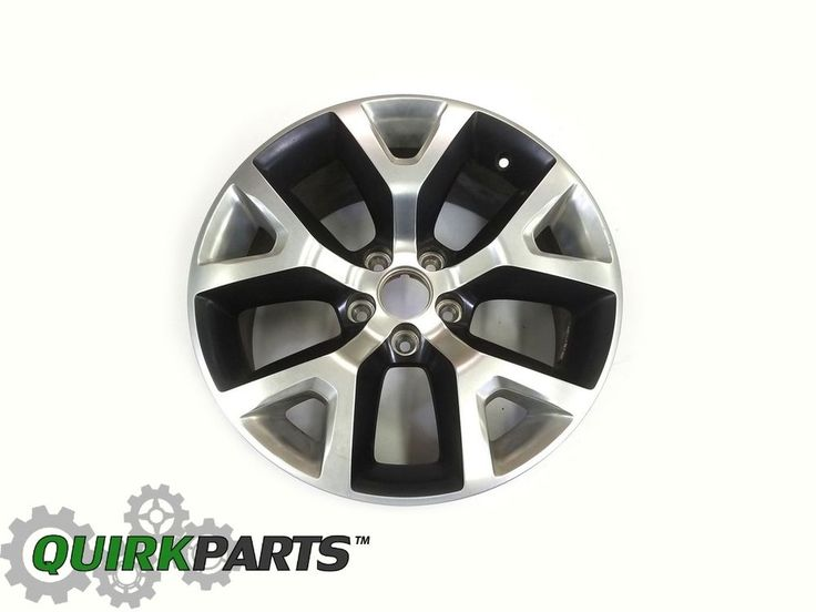 OEM MOPAR JEEP CHEROKEE TRAIL HAWK BLACK PAINTED ALUMINUM WHEELS SET 17X7.5…