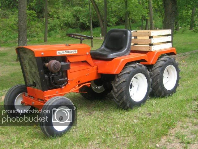How To Make A Garden Tractor 4wd Mytractorforum Com The