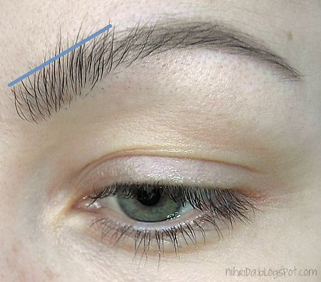 How+To+Do+Your+Eyebrows | Nihrida: How To Shape Your Eyebrows