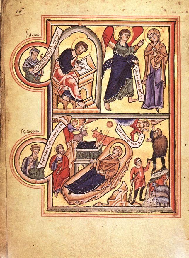 MINIATURIST, German, Book of Prayers of St Elizabeth of Hungary, c. 1220, Illumination on parchment, Museo Archeologico Nazionale, Cividale