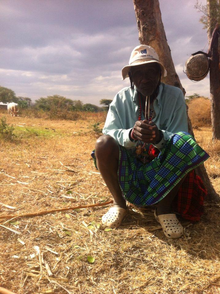 Capo villaggio masaai
