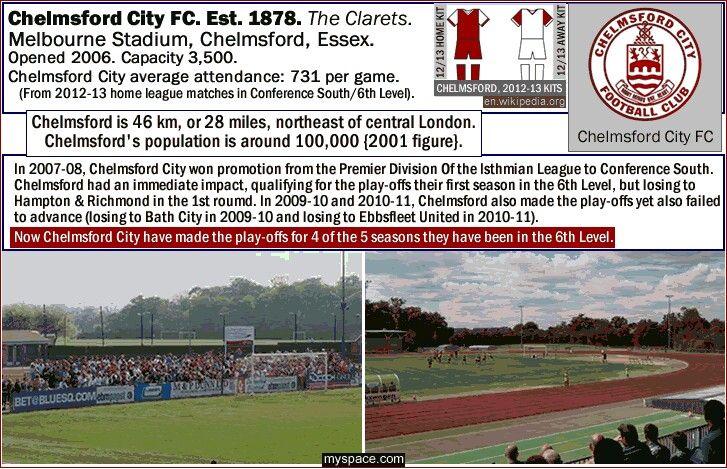 Melbourne Stadium, Chelmsford City of England.