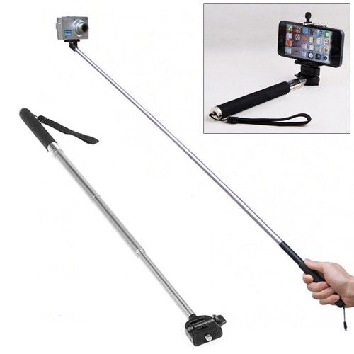 Selfie Stick for Camera/iPhone/Samsung/HTC via 5 Stars Gadgets. Click on the image to see more!