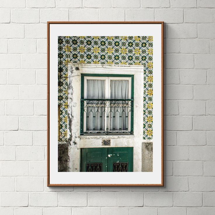 024_PrintAzulejos, Azulejos, Poster, Wall, Printable, Portugal, Pattern, Tiles, Photography, Instant download