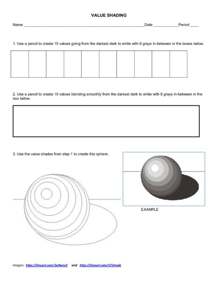 Form And Value In Art : Best images about teaching art d shapes value