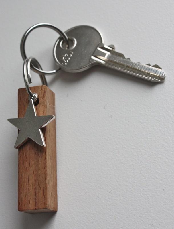 sleutelhanger ster by simpel