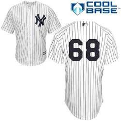 Dellin Betances New York Yankees White Stitched MLB Jersey