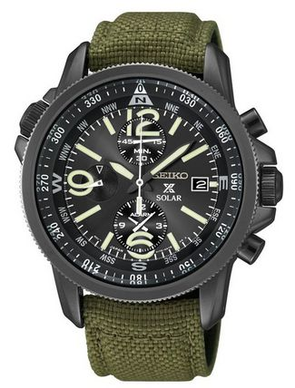 Seiko_SSC295P1_Prospex_Men's_Solar_Military_Alarm_Chronograph_100m_Water_Resistant,SSC295
