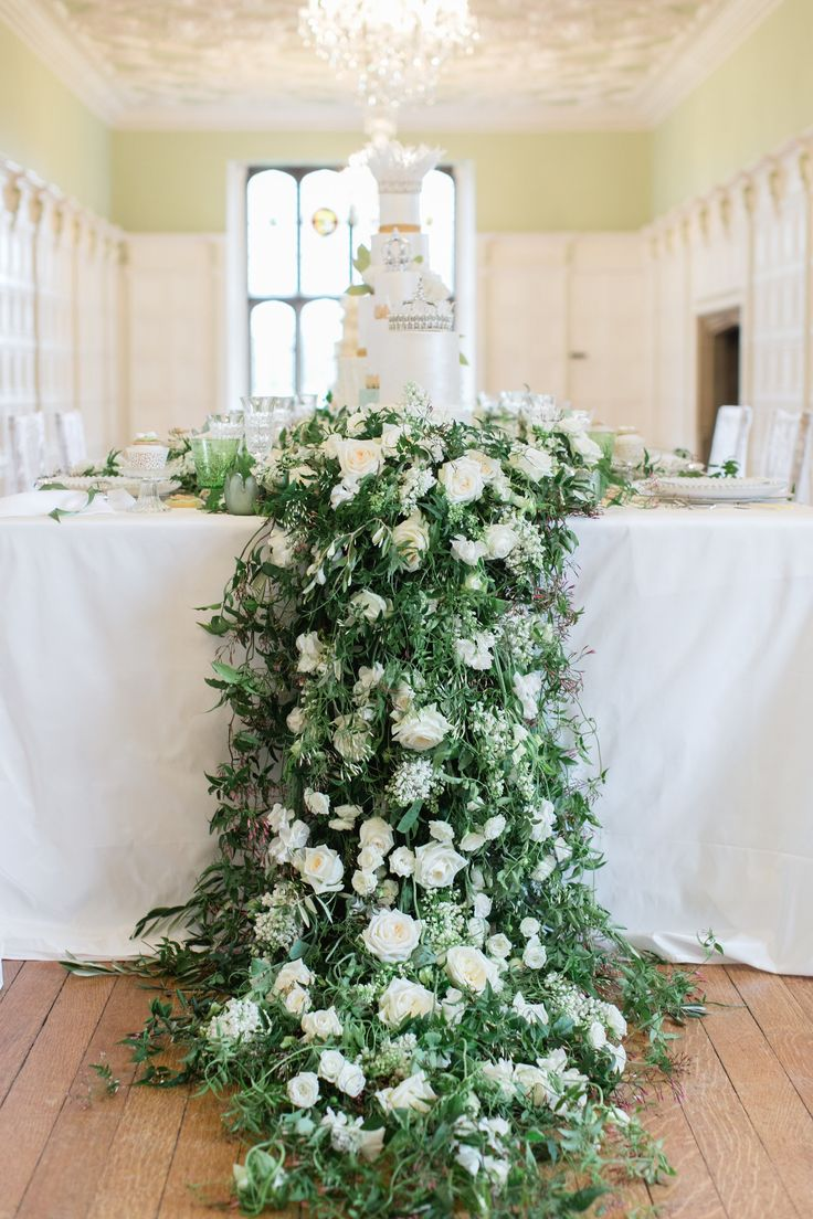 Cascading Flower Wedding Garland For Your Royal Table