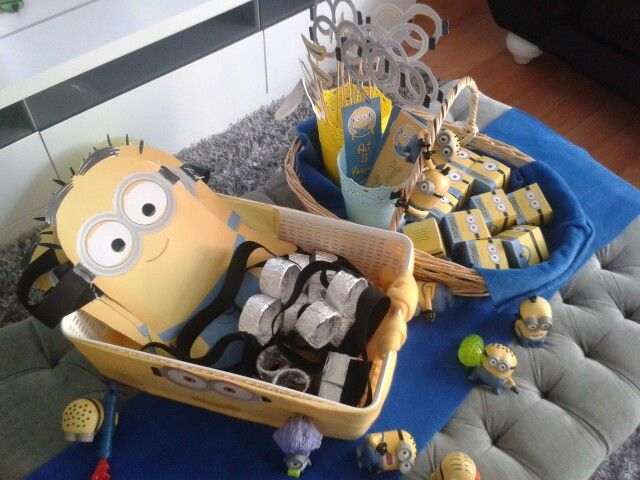 My son's Minions  birthday party
