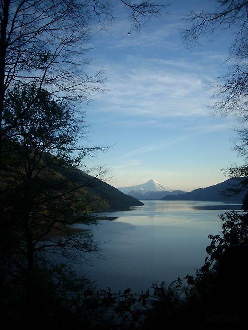 Lago Caburgua, Sur de Chile