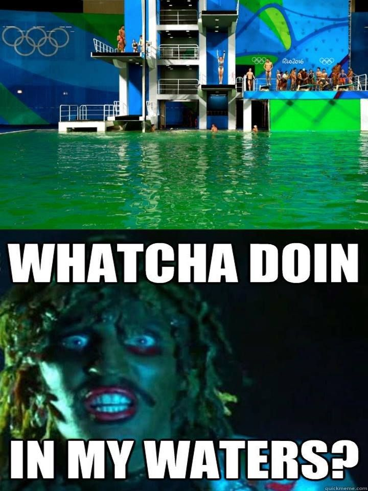 Rio Officials Finally Reveal the Source of the Green Diving Poolphreezinc - http://asianpin.com/rio-officials-finally-reveal-the-source-of-the-green-diving-poolphreezinc/