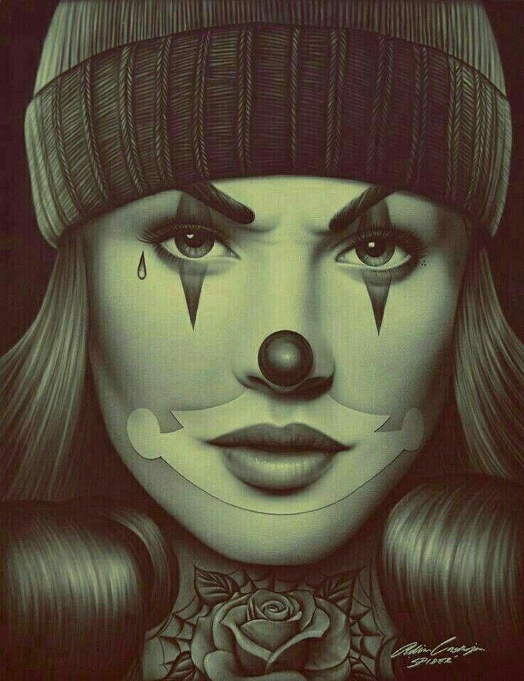 Chicano art | resembles Melania Trump in the narrators eyes of - https://www.pinterest.com/pin/368943394456799521/ ,..., https://www.pinterest.com/pin/368943394456805461/ | Joker
