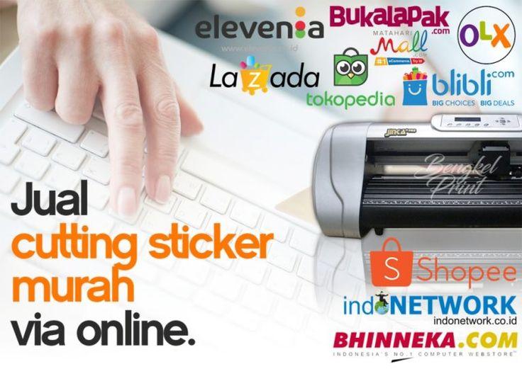 jual cutting sticker via online