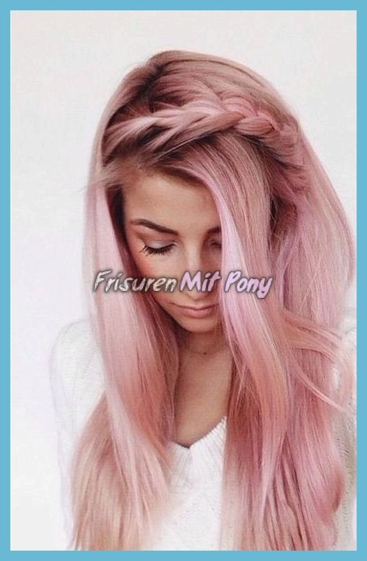 Rose Gold Haarfarbe 2018 Neue Mode Rose Gold Haar Farbe Hair Color