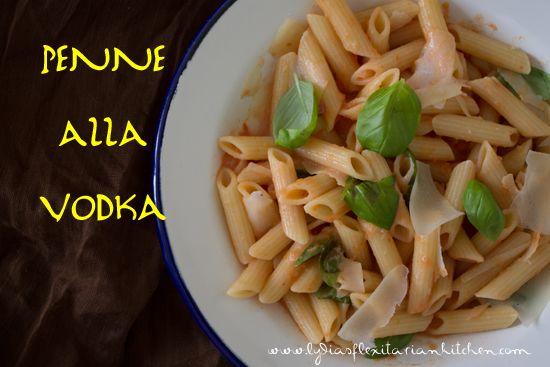 Penne alla Vodka ~ Lydia's Flexitarian Kitchen