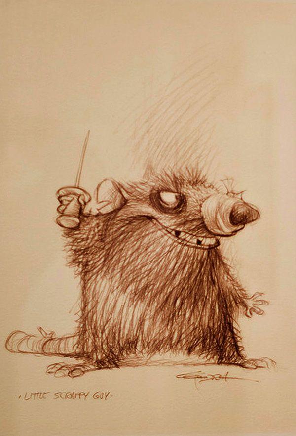 Carter Goodrich  Living Lines Library: Ratatouille (2007) - Concept Art