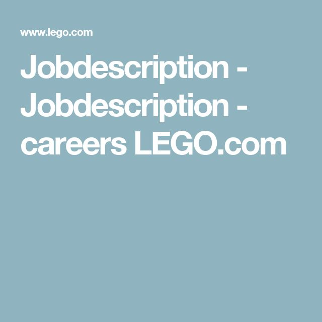The LEGO Group, Part Time Retail Merchandiser, Nashville North! careers LEGO.com