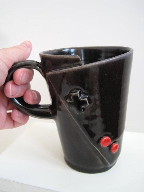 game controller (use this for handle: http://www.thisnext.com/item/1F8D9806/E9BA74CD/Mugs-for-a-Mixed-Marriage)