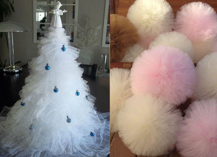 Ecco una creazione semplice ma di grandissimo effetto per il vostro Natale. Se non avete in casa delle vecchie tende da riciclare o dei vecchi tutù ecco cosa trovate in commercio per poter realizzare il vostro albero di Natale in tulle. Ovviamente esistono di tutti i colori, scegliete voi quale usare per il vostro …