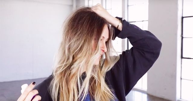 "Laura Polko—celebrity hairstylist to Gigi Hadid, the Kardashians, and more—demonstrates how to get perfectly undone ""bend"" waves."