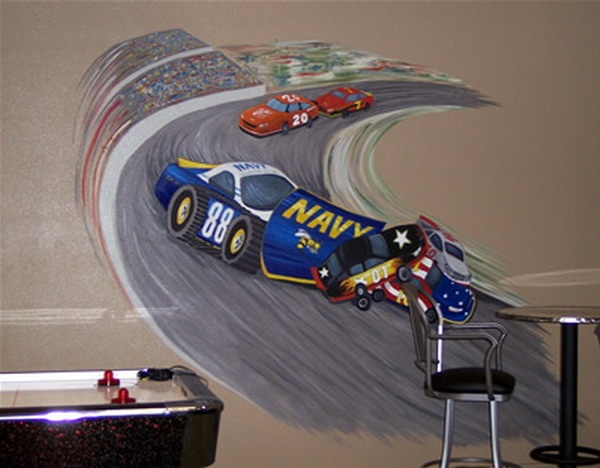 Race Track · Kids Wall MuralsCustom Wall MuralsRace Car ... Part 66
