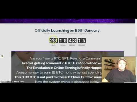 Review # CrazeBTC Plus MAKE $100,000 * Is CrazeBTCPlus a Scam?