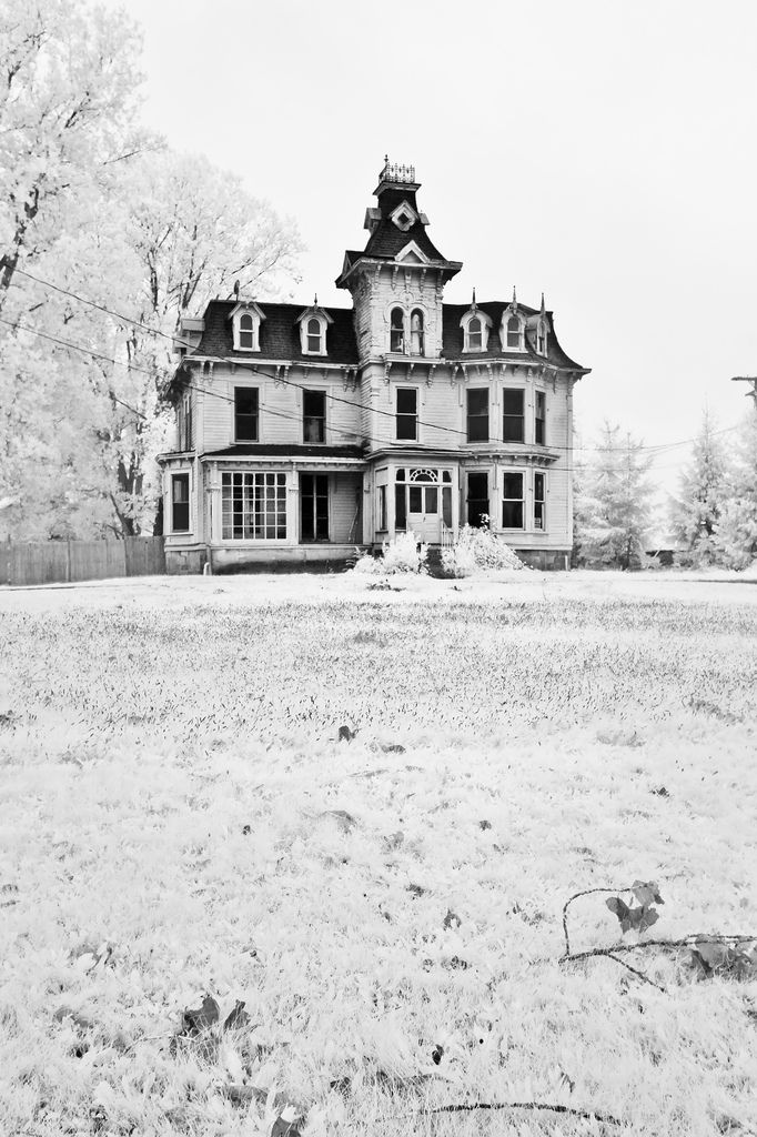 Haunted House Bruce Mansion Burnside, Michigan by Marty Hogan