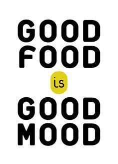 good food is good mood - Recherche Google