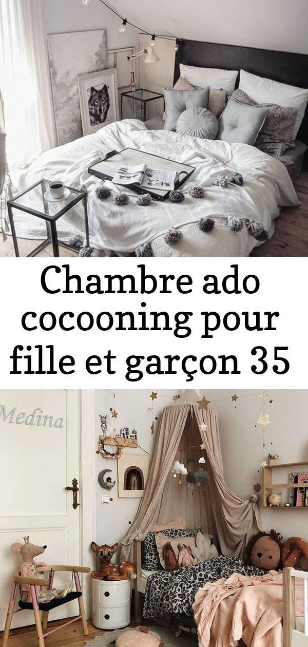 Dco Chambre Ado Cocooning Fille Gris Blanc Gipsy Blog Dco Clem