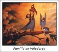 Familia de Petrie / Petrie's family / En busca del Valle Encantado / The Land Before Time / Don Bluth / Amblin
