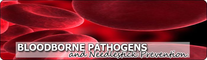 Bloodborne Pathogens and Needlestick Prevention - Copyright WARNING: Not all materials on this Web site were created by the federal governme...