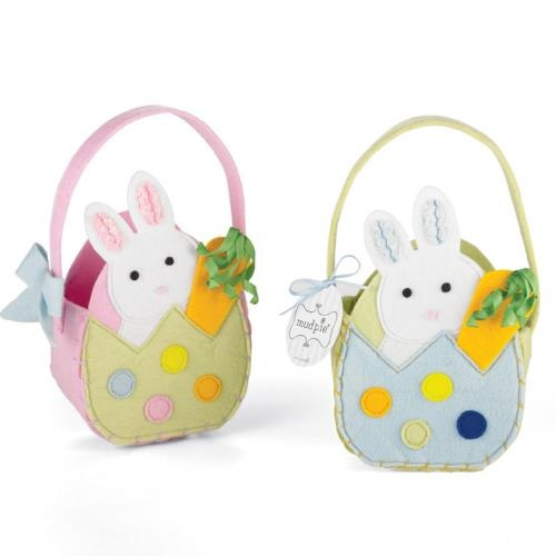 120 best felt easter baskets images on pinterest crafts easter felt easter baskets negle Image collections