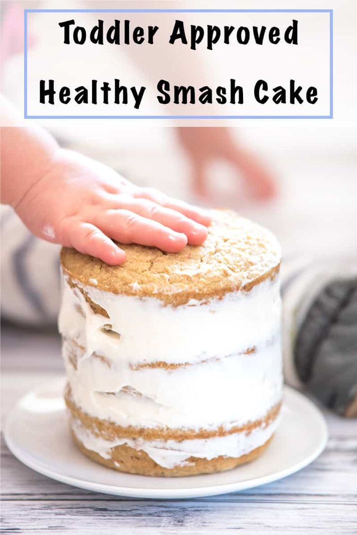 Healthy Smash Cake Recipe – No Added Sugar Gluten Free First Birthday Cake – The…  – Food