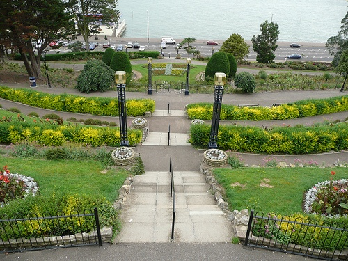Gardens on the seafront of Westcliff, Southend on Sea