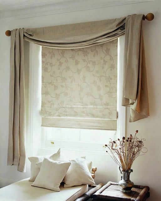Curtains With Blinds, Swag