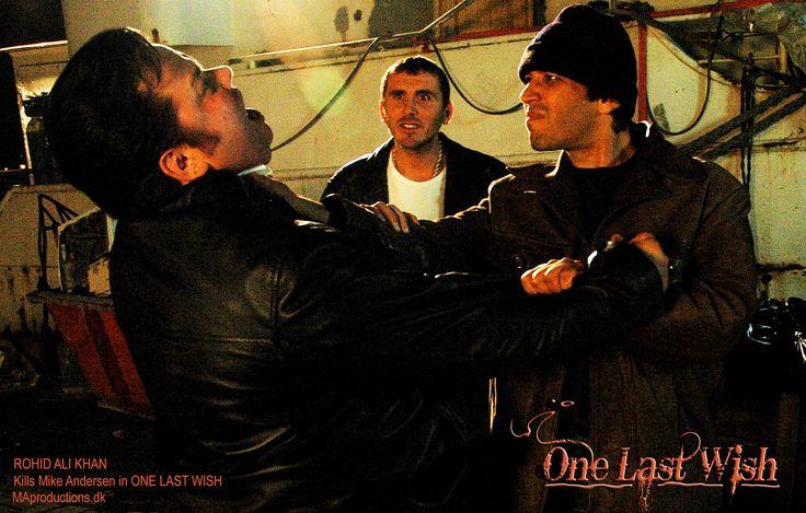 https://flic.kr/p/wno6JX | Rohid Ali Khan | Rohid Ali Khan Fights Mike Andersen as the KILLER in ONE LAST WISH MAproductions.dk