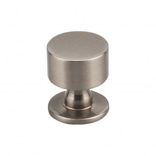 lily knob 1 18 inch serene collection of decorative hardware from top knobs - Top Knob