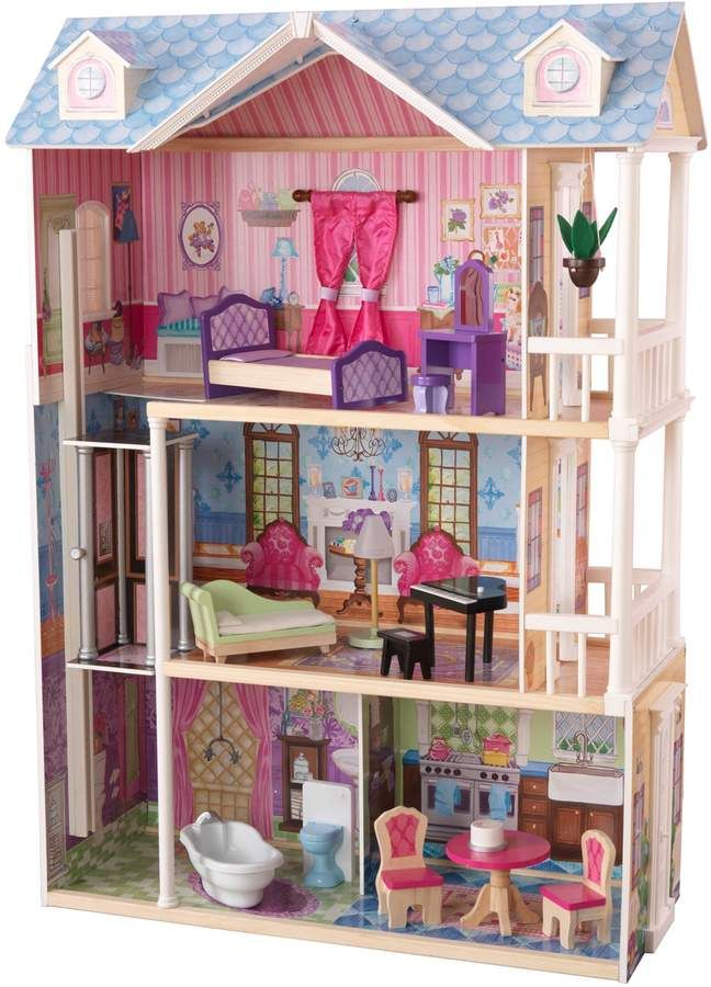 Kidkraft My Dreamy Dollhouse In 2020 Best Doll House Doll Houses For Sale Kids Doll House