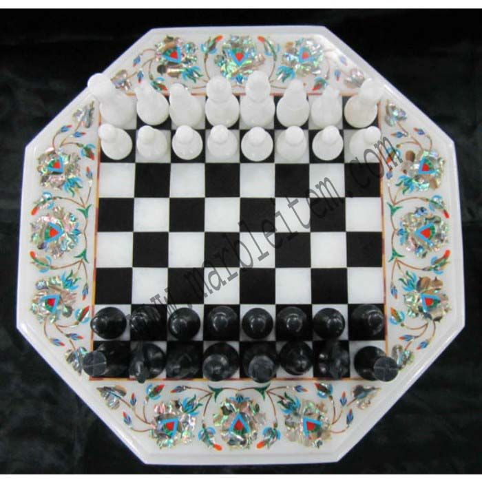 marble chess board inlay design gift shop agra india marble gift home decor  http://www.marbleitem.com/india/marble-gift-items/