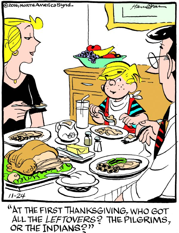 Dennis the Menace for 11/24/2016