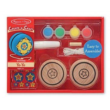 Melissa & Doug Create A Craft Wooden Yo Yo - Art & Magentic Play - Products