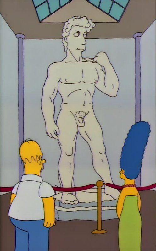 #buonsabato #David #Simpsons version @musefirenze @MiBACT @Asamsakti #artninja #Michelangelo #renaissance https://t.co/jNDbcUADkp