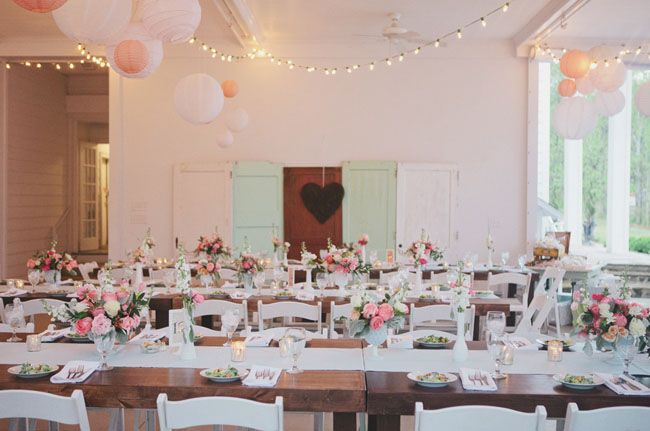 mind and pink tablescape